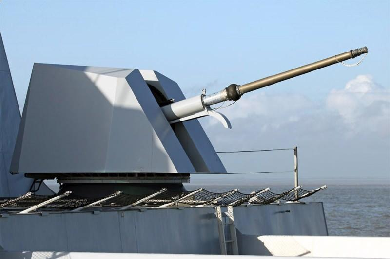 MKEK'in 76 mm deniz topu