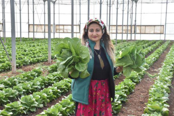 Ezogelin Tarımsal Kadın Kooperatifi Başkanı Saadet Toğaç