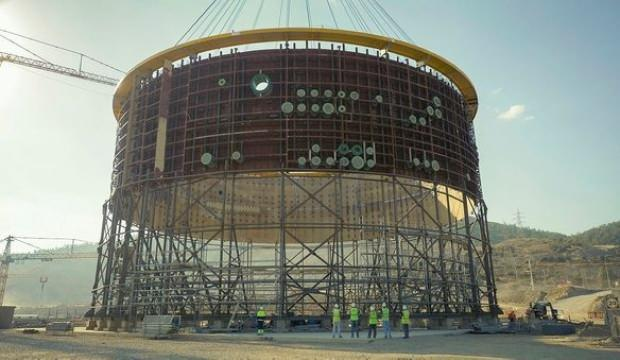 Akkuyu nükleer santralinde 3. reaktörün temeli atılıyor
