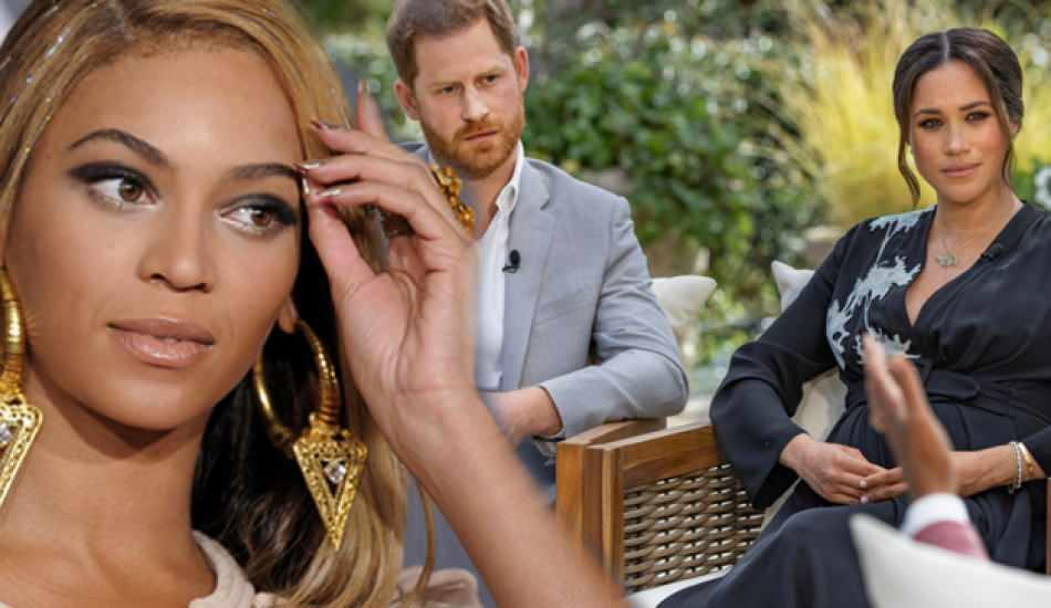 Beyonce'den Meghan Markle'ye destek!