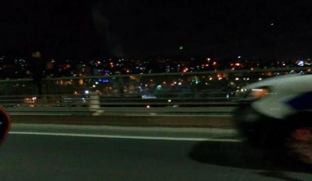 Haliç Köprüsü'nde intihar girişimi!