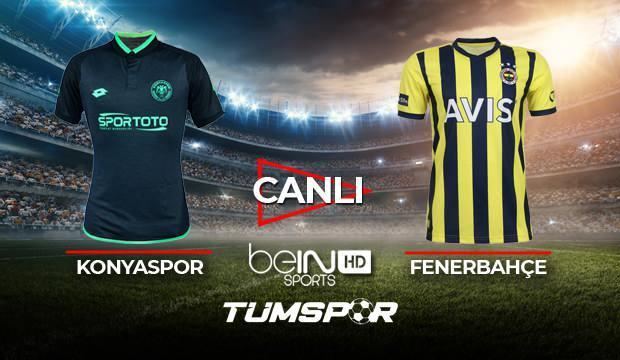 Konyaspor Fenerbahçe maçı canlı izle! | BeIN Sports Konya FB maçı canlı skor takip