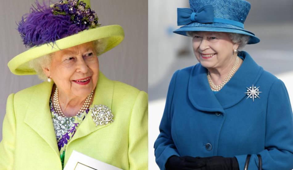 Kraliçe Elizabeth'in taktığı broşun sırrı ne? Kraliçe II. Elizabeth'in göz kamaştıran broşları