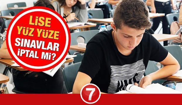 Lise sınavları iptal mi? MEB birinci dönem yarım kalan okul sınavlarıyla ilgili açıklama yaptı!