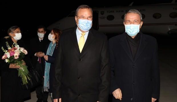 Milli Savunma Bakanı Akar Romanya'ya gitti