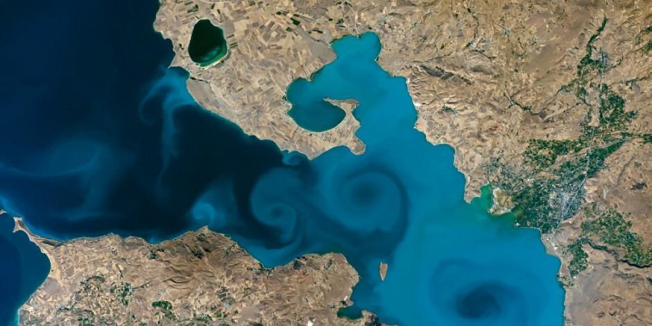 NASA'nın 20 yılın en iyi listesinde Van Gölü de yarışıyor