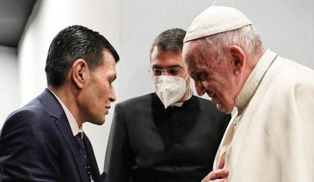 Papa Francis, Aylan Bebeğin babasıyla görüştü