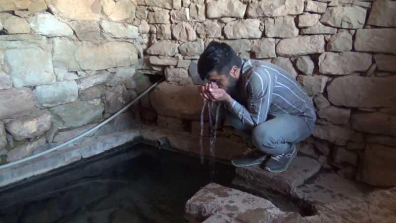 Siirt Pervari'de ki şifalı su