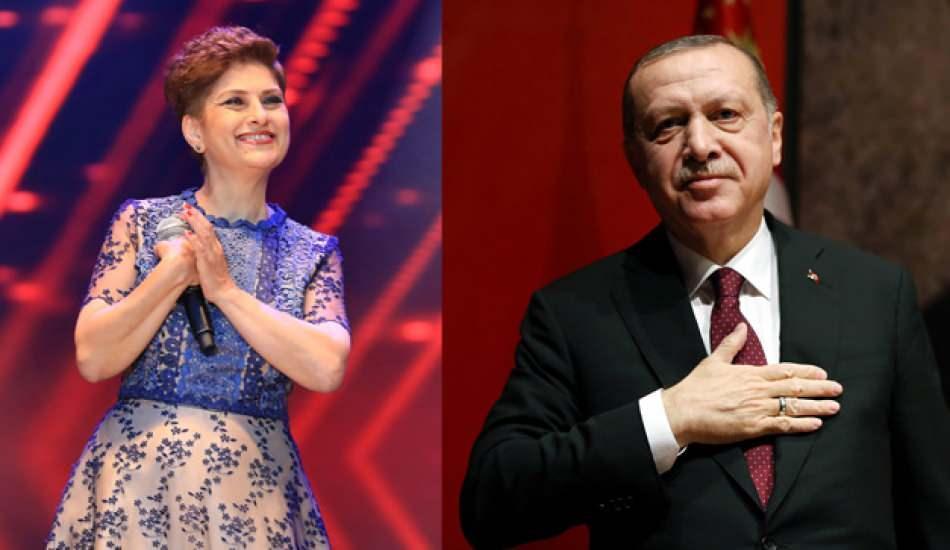 Şükriye Tutkun, Cumhurbaşkanı Erdoğan'la ilgili paylaşımını tekrarladı!