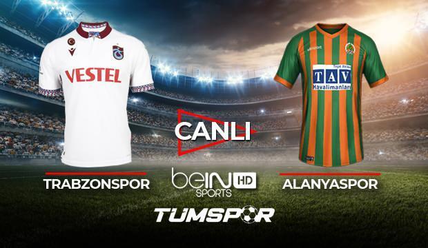Trabzonspor Alanyaspor maçı canlı izle! | BeIN Sports  TS Alanya maçı canlı skor takip