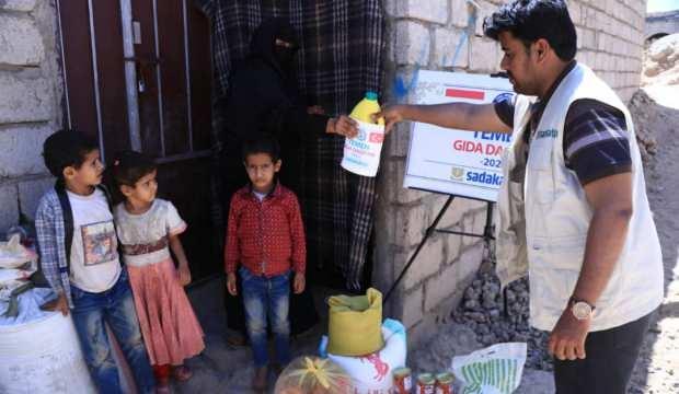 Türkiye Yemen'e destek olmaya devam ediyor