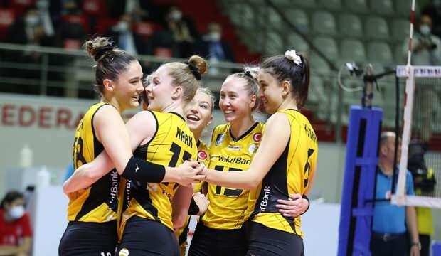 Kupa Voley'de şampiyon VakıfBank