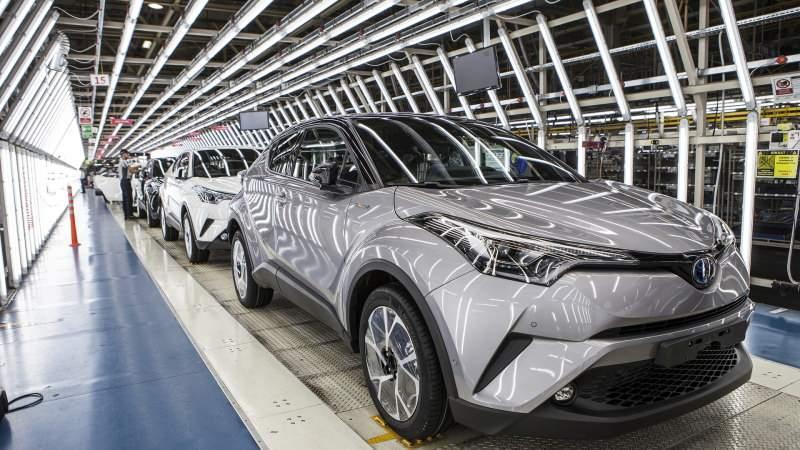 Toyota üretim