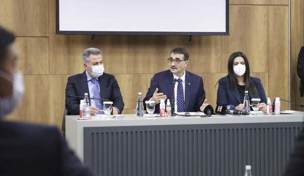 Bakan Dönmez'den heyecanlandıran doğal gaz açıklaması: Nisanda başlıyor