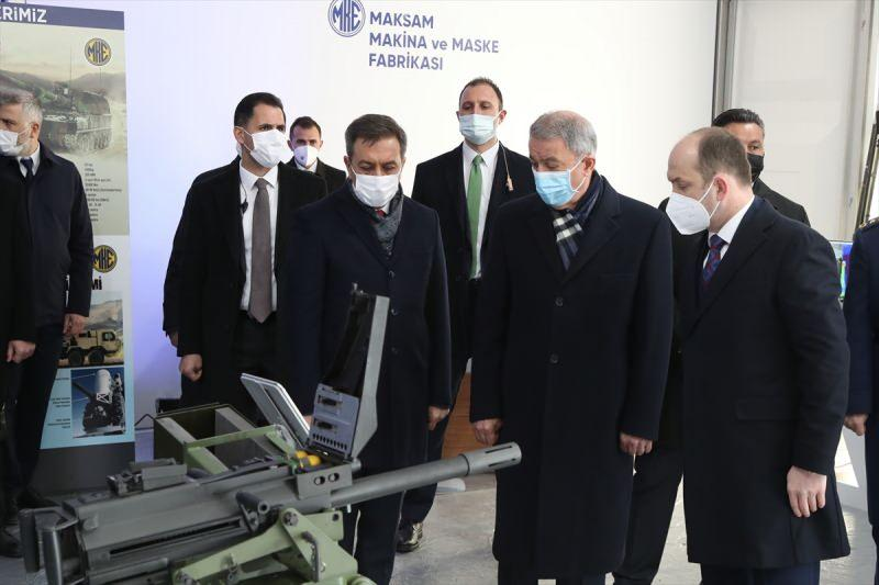 Milli Savunma Bakanı Akar'dan, MKEK Barutsan Roket ve Patlayıcı