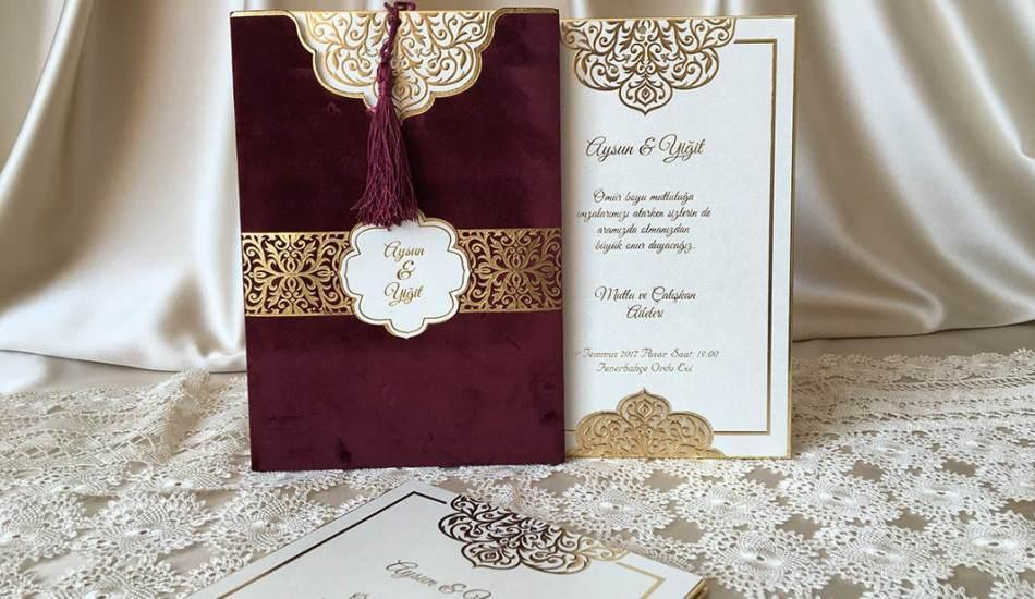 En modern düğün daveti modelleri hangisi? 2021 trend davetiye modelleri