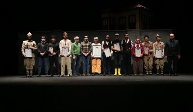Esenler Belediyesi'nde İstiklal Marşı'nın hikayesi sahnelendi