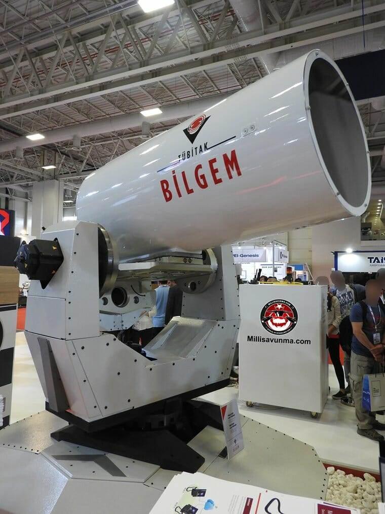 IŞIN 20 kW Yüksek Güçlü Lazer Sistemi Teleskobu