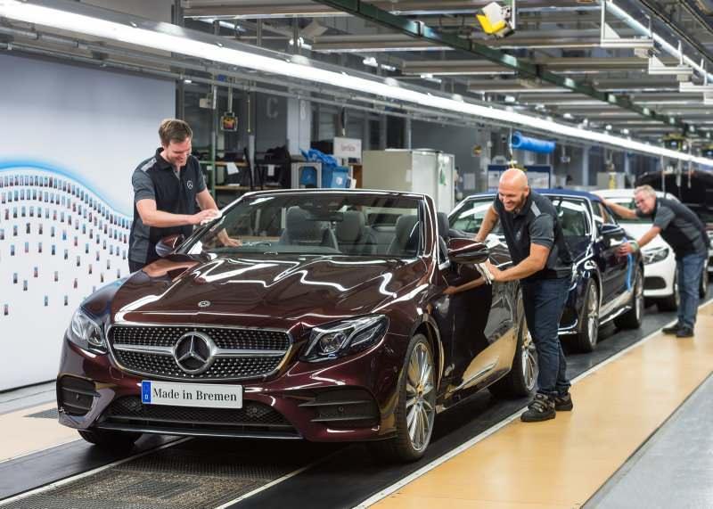 Mercedes üretim