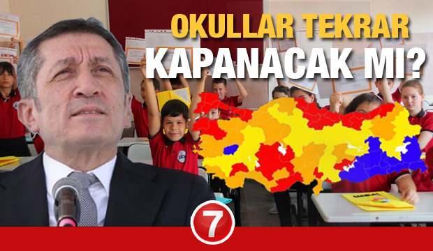 Okullar tekrar kapanır mı? MEB Bakanı Ziya Selçuk'tan yüksek riskli iller için kritik açıklama!