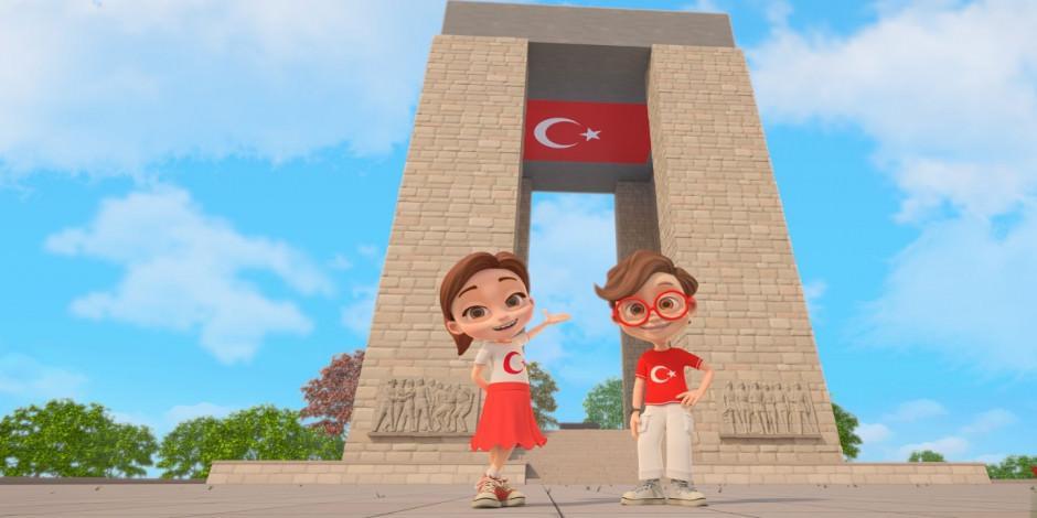 TRT'den çocuklar için online Çanakkale gezisi