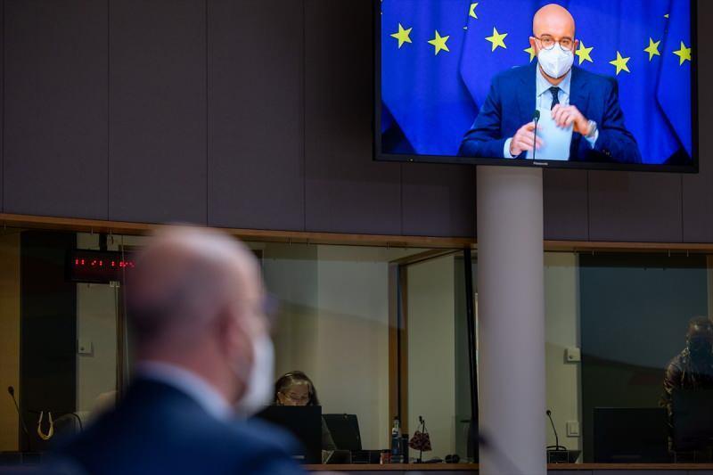 AB Liderler Zirvesi video konferans yöntemiyle başladı. Belçika'nın başkenti Brüksel'deki toplantıya AB Konseyi Başkanı Charles Michel başkanlık etti.