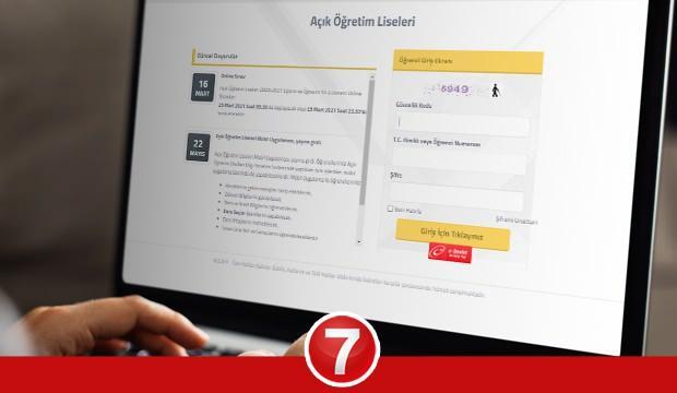AÖL 2. dönem online sınav GİRİŞ ekranı! MEB Açık lise sınavları kaç gün sürecek nasıl olacak?