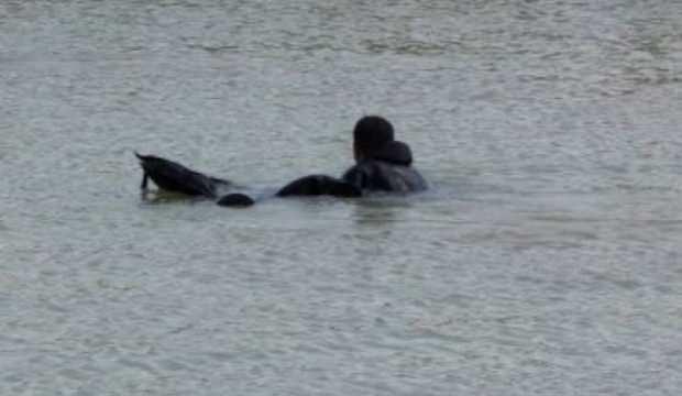 Irmakta cansız bedeni bulundu