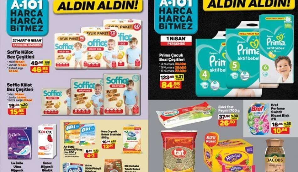 Bebek ürünlerinde büyük indirim! 1 Nisan A 101 aktüel ürünleri nelerdir?