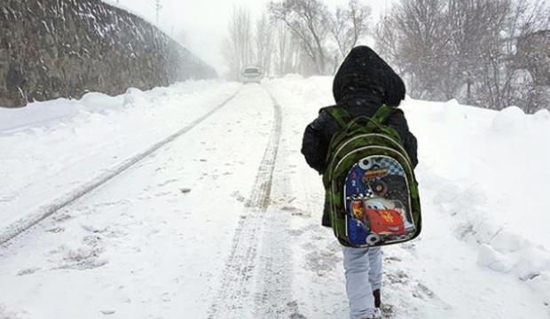 Konya, Çankırı, Yozgat ve  Kırşehir'de okullar tatil edildi