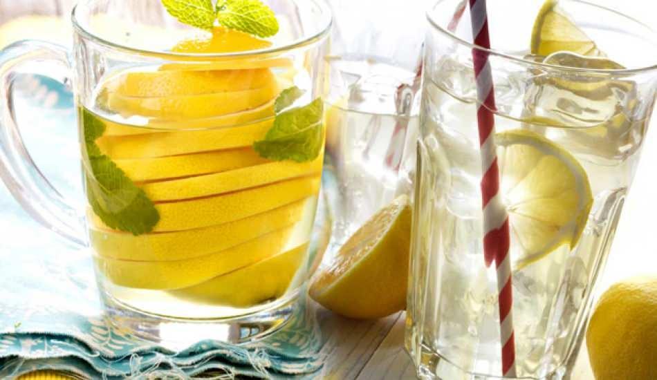Limonlu su yağ yakar mı? Zayıflamak için limonlu su ne zaman içilir?