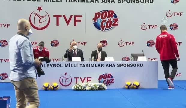 Türkiye Voleybol Federasyonu'na yeni sponsor