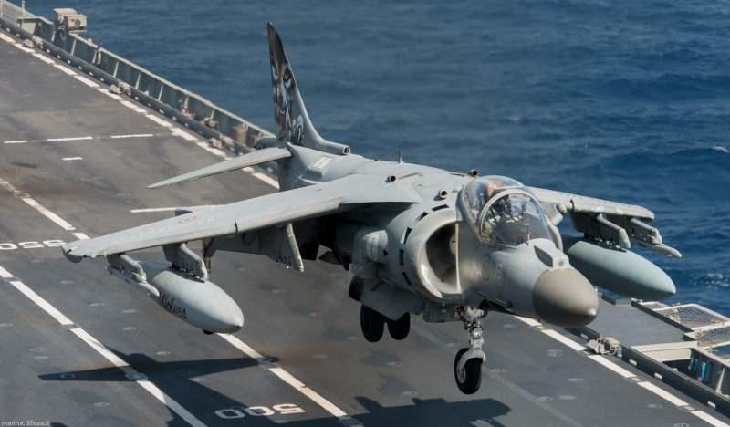 Harrier savaş uçağı