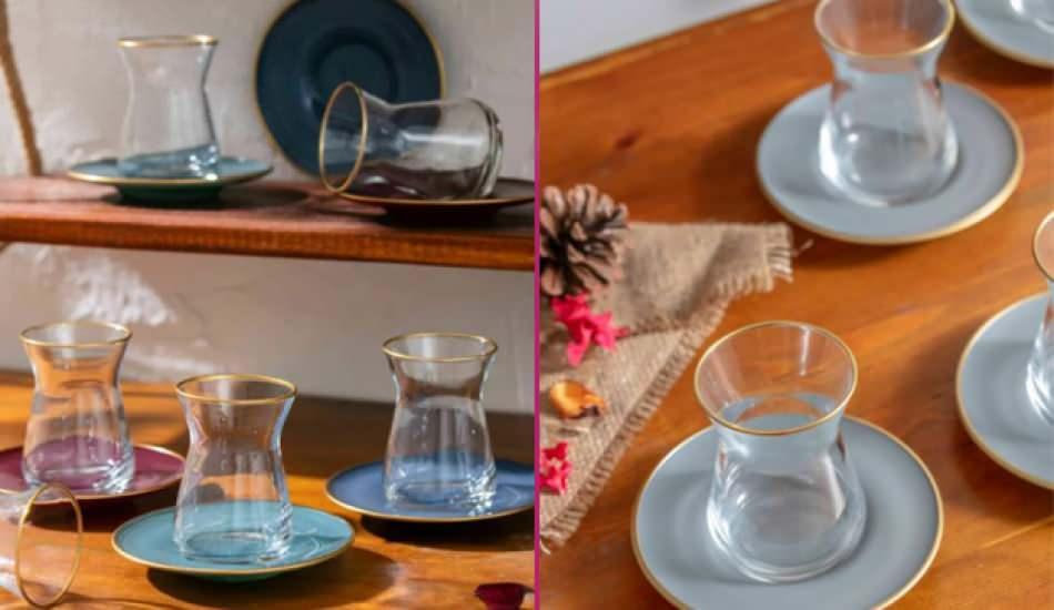 Çay bardağı modelleri ve fiyatları 2021