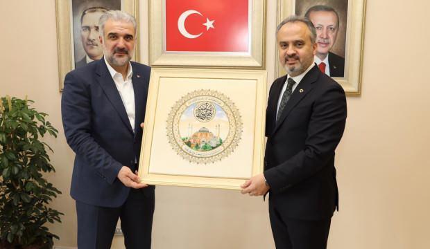 Alinur Aktaş'tan Osman Nuri Kabaktepe'ye önemli ziyaret