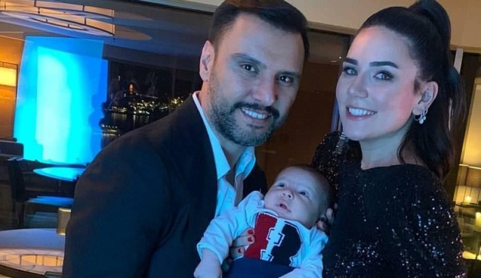 Buse Varol ile Alişan'ın kızları minik Eliz tüm şirinliğiyle ilgiyi topladı!