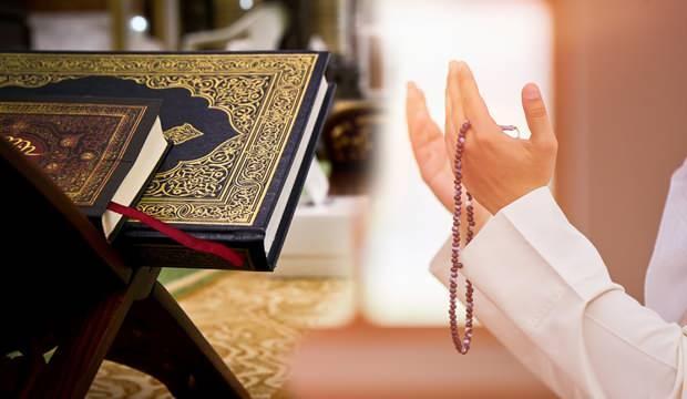 Cuma vakti okunacak dualar? Bol kazanç ve sağlık için Cuma Günü okunacak dua ve sureler...