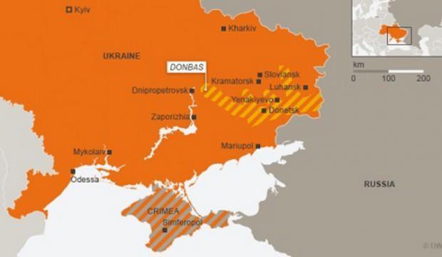 Donbas'ta 1 Ukrayna askeri mayına basması sonucu öldü