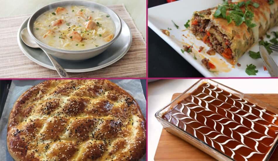 En kolay iftar menüsü nasıl hazırlanır? 1. gün iftar menüsü