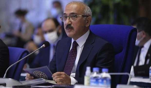 Hazine ve Maliye Bakanı Lütfi Elvan'dan önemli görüşme