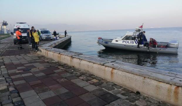 İzmir'de denizde bir erkeğe ait ceset bulundu
