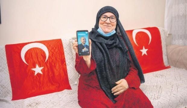 Mahruze Keleş: Son nefesime kadar oyum Erdoğan'a