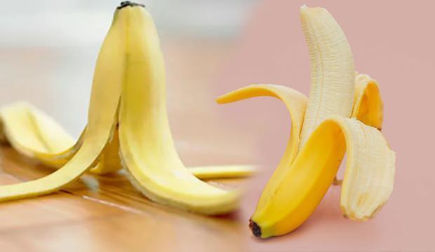 Muz kabuğunun faydaları nelerdir? Muz vitamin ve mineral değerleri...