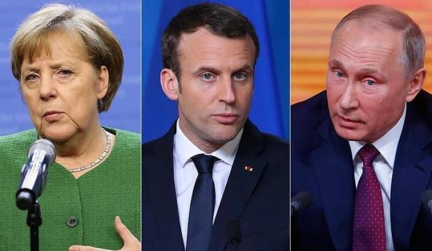 Putin, Merkel ve Macron, Sputnik V aşısını görüştü
