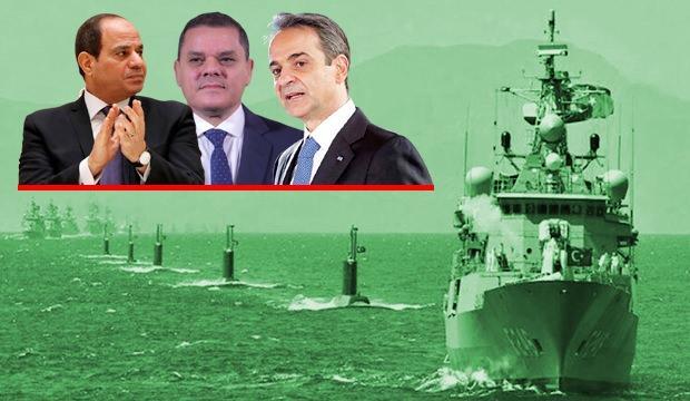Türkiye tepkili: Yunanistan Mısır'la anlaştı, Libya'ya çıkarma yapacak