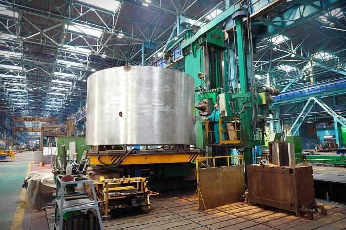 Akkuyu NGS'nin 1'nci güç ünitesi için pasif kor su basma sistemi üretimine başlandı