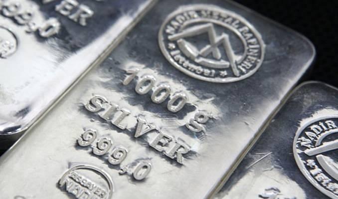 Gümüşün ons'u 25 dolar bandında
