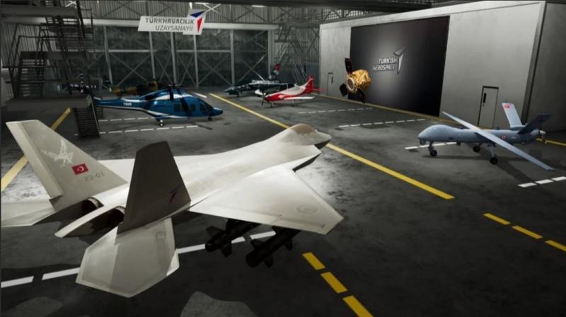 Milli muharip uçağın 2023 yılında hangardan çıkarılması planlanıyor.
