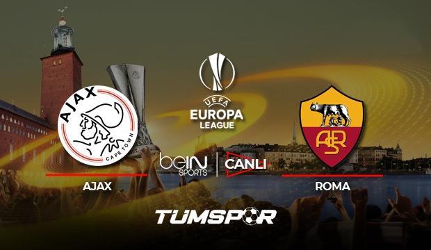 Ajax Roma maçı canlı izle! UEFA Avrupa Ligi beIN sports canlı skor takip etme!