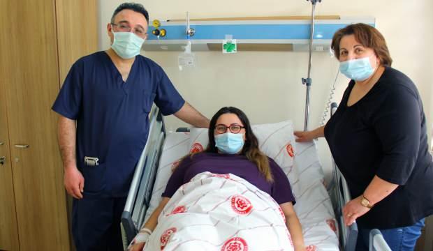 Ameliyat için Almanya'dan Sivas'a geldi